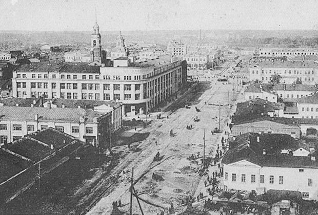 Свердловск. Улица 8 Марта. 20-е годы XX века