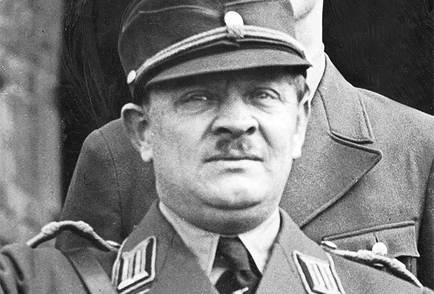 Глава Рейхскомиссариата Эрих Кох