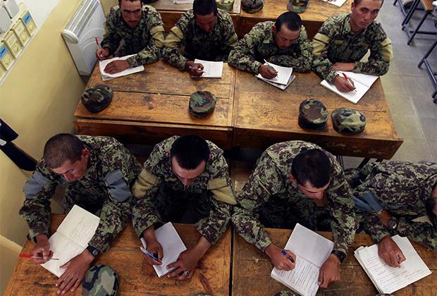 Тренировочный центр афганской армии в Кабуле