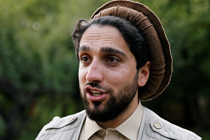 Лидер восстания в провинции Панджшер Ахмад Масуд