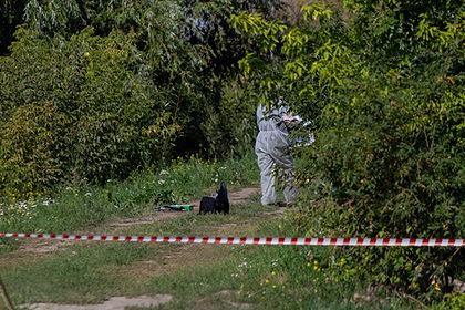 Место обнаружения пакета с телом Насти Муравьевой