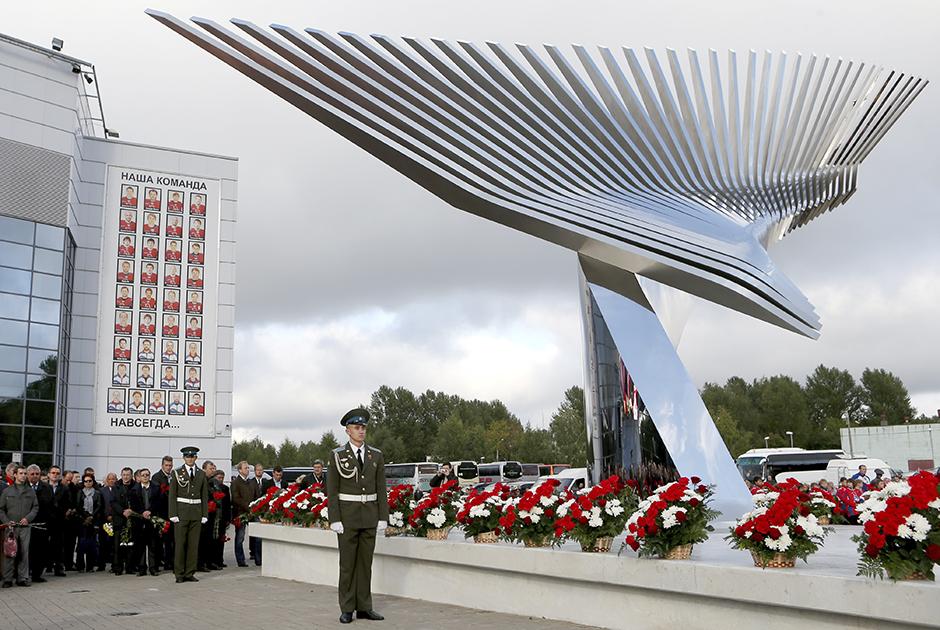 Стела в память о гибели «Локомотива»