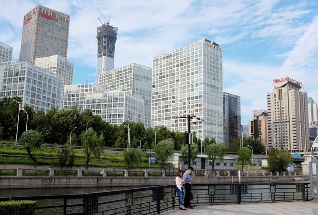 Деловой центр Пекина