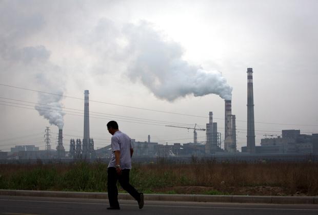 Сталелитейный завод в Китае