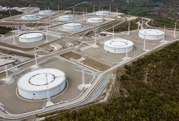 Нефтехранилище Каспийского трубопроводного консорциума