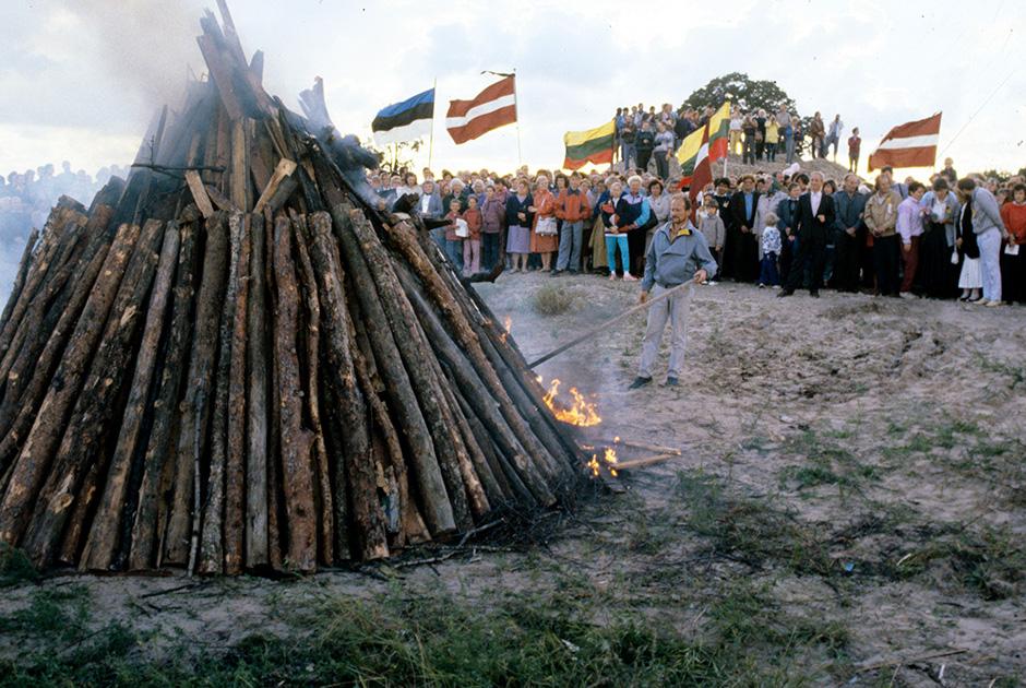 Эстонские и латвийские националисты