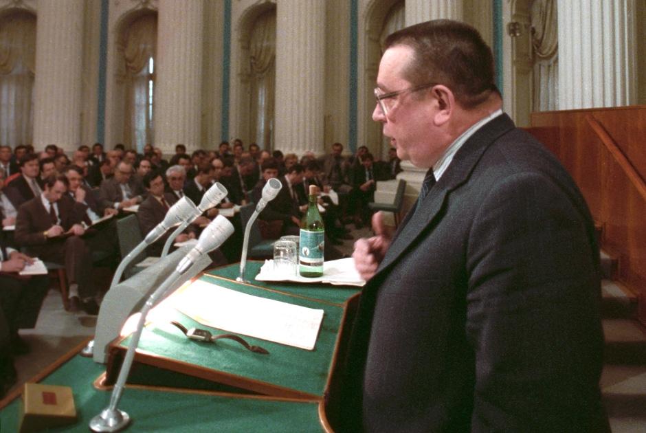 Валентин Павлов, Кремль, апрель 1991 года