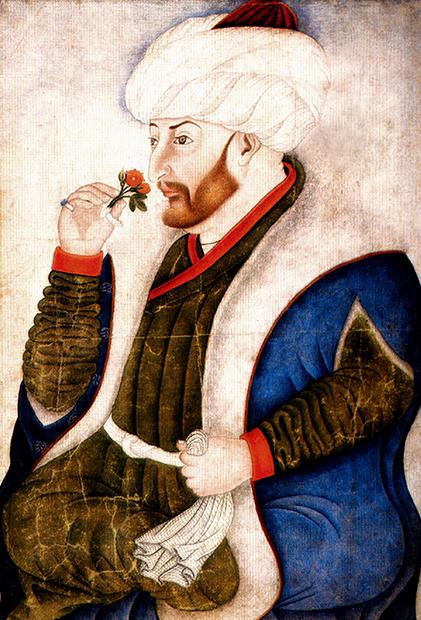 Законодатель Османской империи ХVI века Сулейман Великолепный