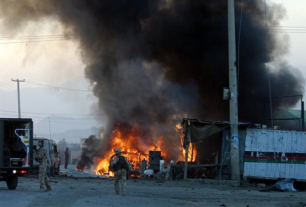 Последствия теракта в Кабуле в 2005 году