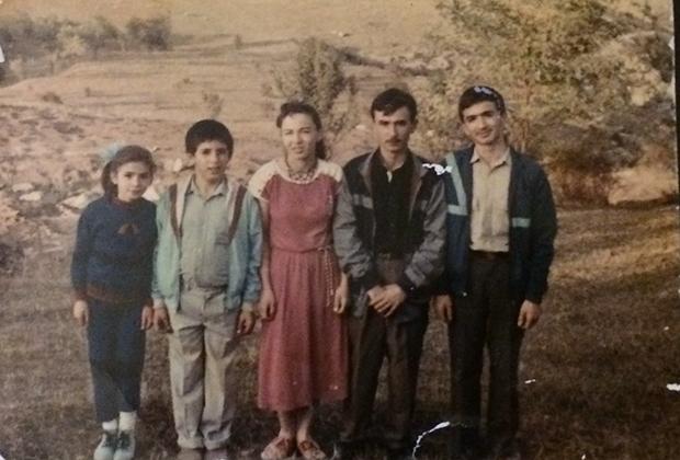 Мэтанэт Магеррамова и ее семья