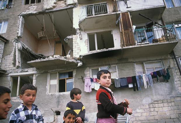 Последствия карабахского конфликта, 1991-1994 годы