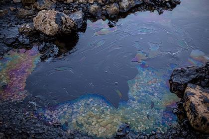 В еще одном российском регионе произошел разлив нефтепродуктов