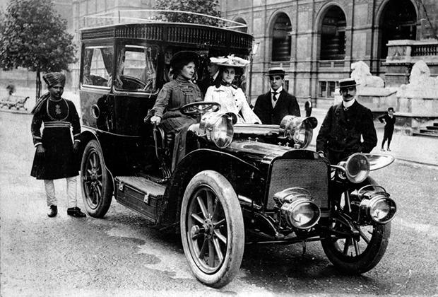 Автомобиль Mors Pullman, принадлежавший Генри Сирилу Пэджету. 1903 год.