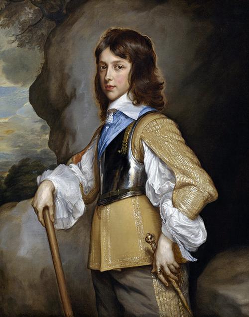 Картина Адриана Ханнемана «Портрет Генри, герцога Глостерского». Продана в 1930 году. Сейчас находится в Национальной галерее искусства в Вашингтоне (США)