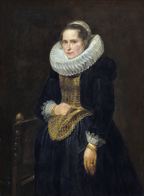Картина Антониса ван Дейка «Портрет фламандской дамы». Продана в 1931 году. Сейчас находится в Национальной галерее искусства в Вашингтоне (США)