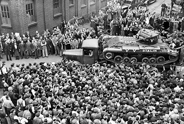Отправка танка Valentine в СССР из Великобритании, 22 сентября 1941 года