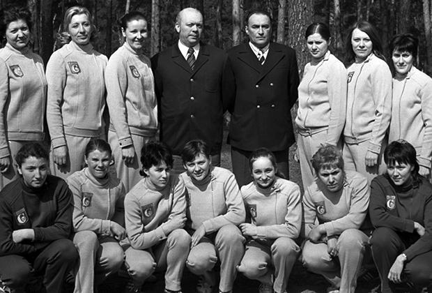 Команда гандболисток «Спартак» (Киев), 1973 год