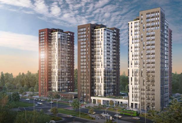 Жилой квартал «Южные сады», район Южное Бутово, Москва