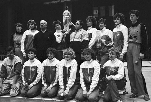 «Спартак» (Киев)— обладатель Кубка европейских чемпионок, 1986 год
