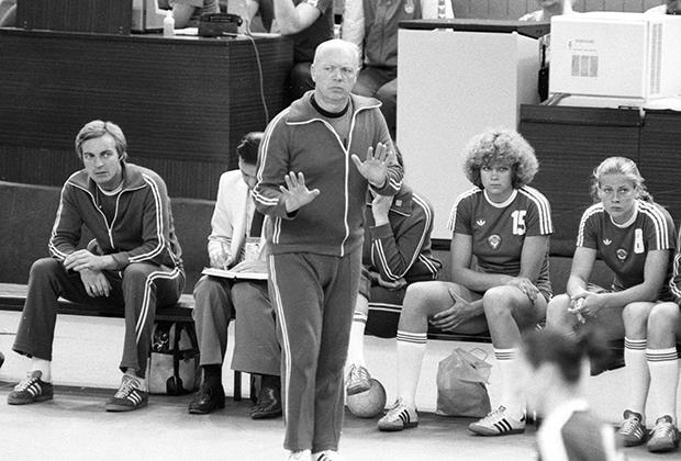На XXII Олимпийских играх в Москве, 1980 год