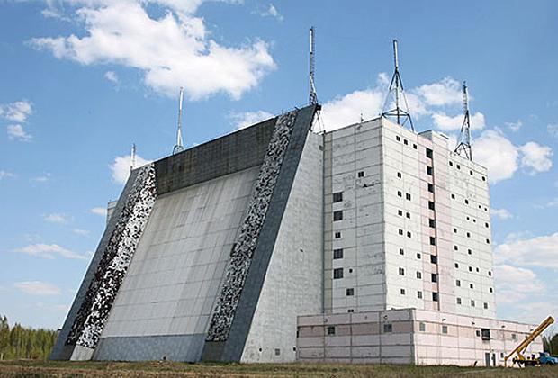Радиолокационная станция «Волга» в составе 474-го отдельного радиотехнического узла (ОРТУ) «Барановичи» под Брестом