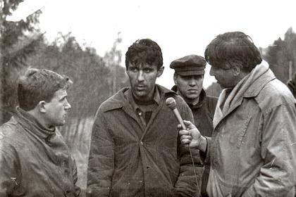 Сергей Головкин (в центре)