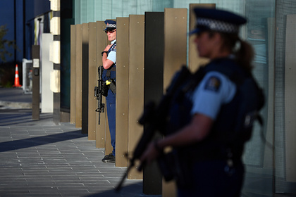 Террорист напал на супермаркет в Новой Зеландии