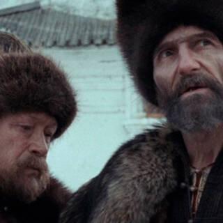 Юрий Кузнецов (слева) в роли Малюты Скуратова