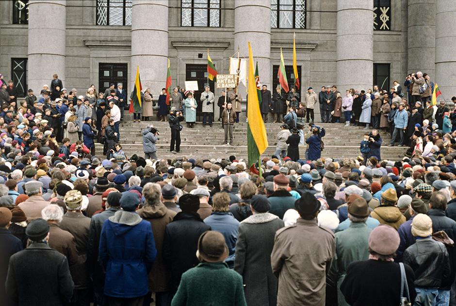 Литовская Республика, всесоюзный референдум о сохранении СССР. 17 марта 1991 года