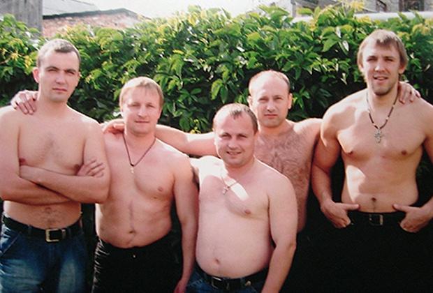Участники ОПГ «Турбазовские»