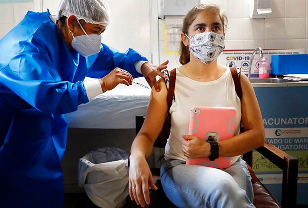 Вакцинация «Спутником V» в Парагвае