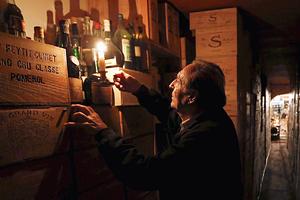 Французский коллекционер вин Мишель-Жак Шассей