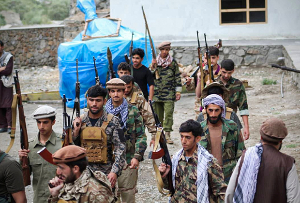 Силы сопротивления в афганской провинции Панджшер