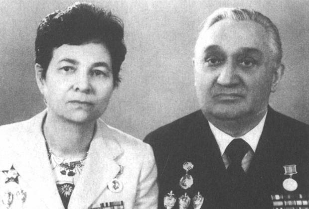 Галина и Михаил Федоровы. Начало 90-х годов