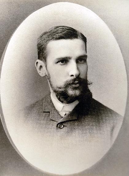 Столыпин — студент университета, 1884 год