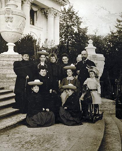 Столыпин с семьей, 1907 год