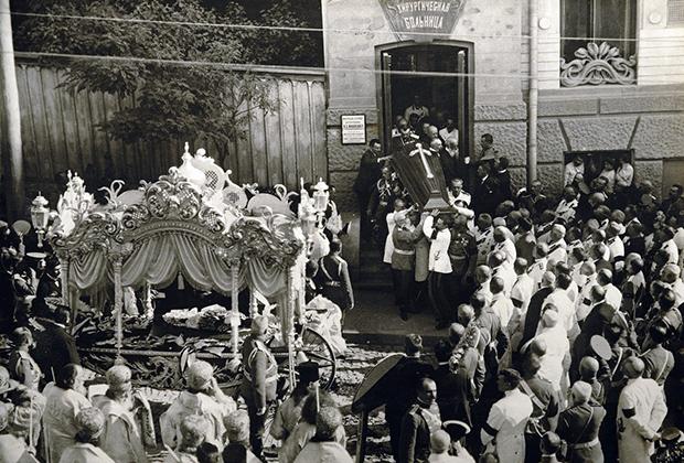 Похороны Петра Столыпина, Киев, 1911 год