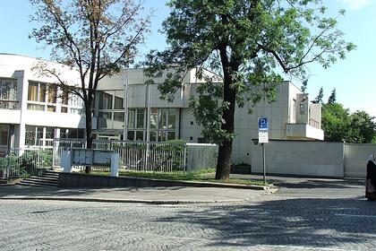 Здание посольства Российской Федерации в Праге