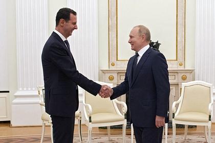 Кремль рассказал о встрече Путина с Асадом до принятия решения о самоизоляции