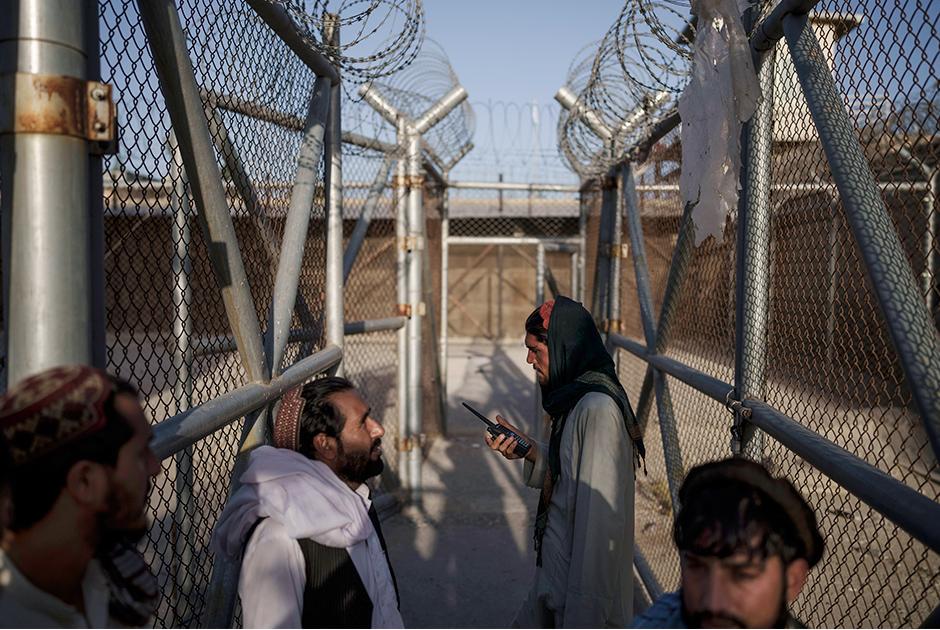 Талибы входят в зону Пули-Чархи, где содержатся заключенные