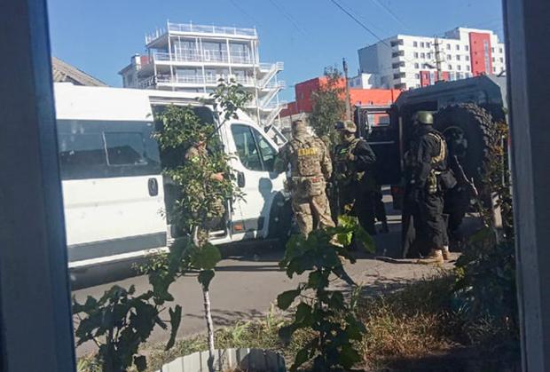 В Лиски прибыли бойцы СОБР