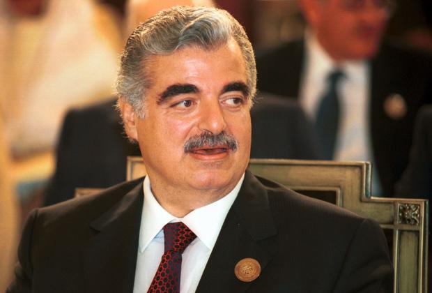 Бывший премьер-министр Ливана Рафик Харири