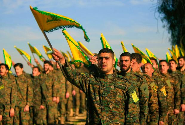Члены группировки «Хезболла»