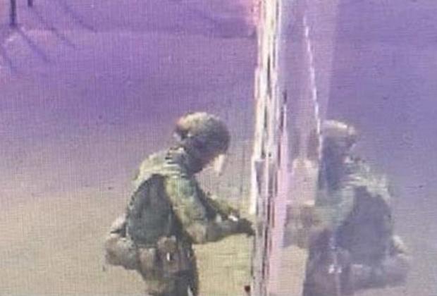 Неизвестный, напавший на отдел полиции в Лисках