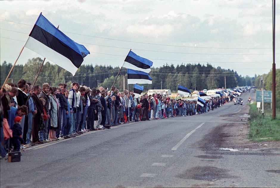 Акция «Балтийский путь», 23 августа 1989 год