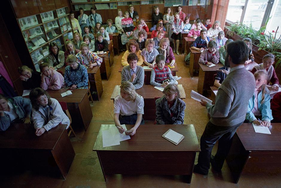 Учащиеся Пушкинского лицея в Риге