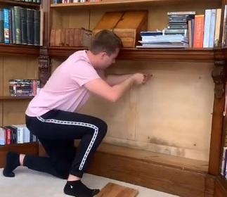 Мужчина нашел подземные «сокровища» в старинном доме семьи