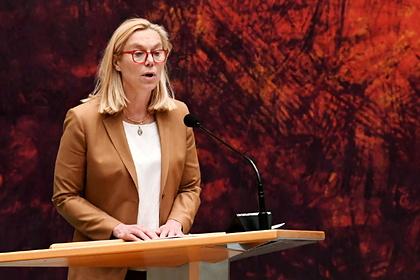 Глава МИД Нидерландов подала в отставку из-за кризиса в Афганистане