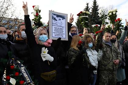 В Минске приостановили расследование дела об убийстве протестующего