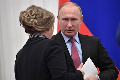 Песков анонсировал разговор Путина с Памфиловой по теме выборов